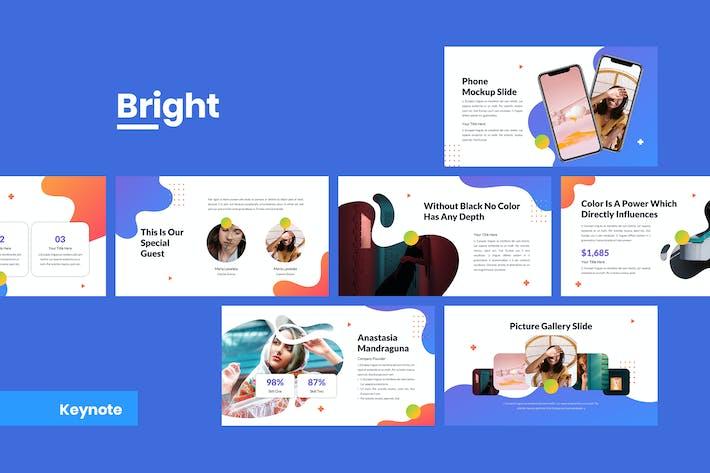 Thumbnail for Bright - Creative Keynote Template