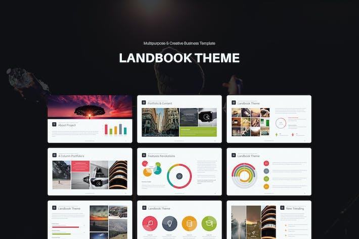 Thumbnail for Landbook Presentation Template (Keynote)