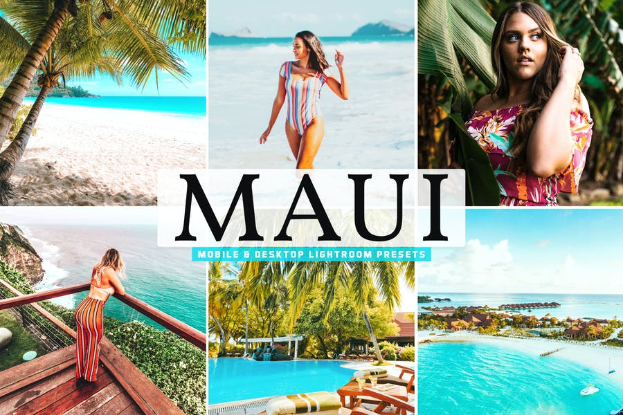 Maui Mobile & Desktop Lightroom Presets