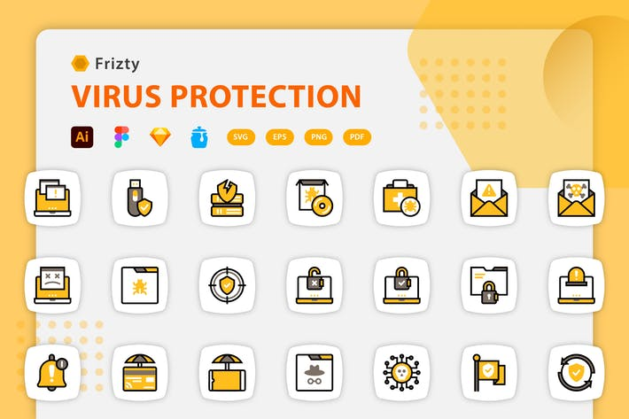 Fristy - Virus Protection Icons