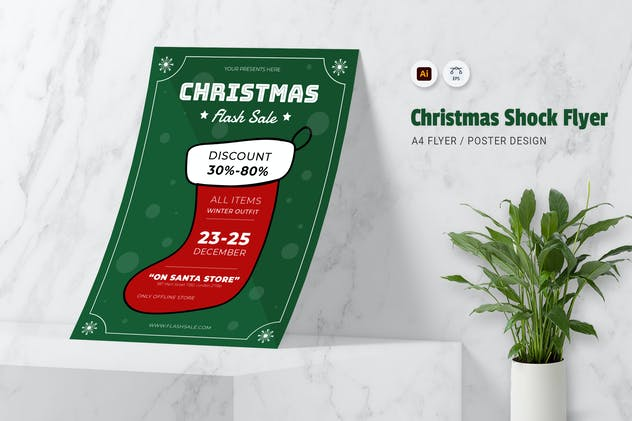 Christmas Shock Flyer