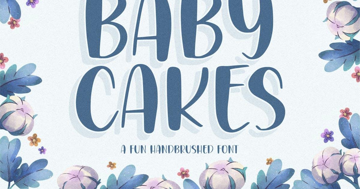 Download Babycakes Handwriting Font YH by GranzCreative