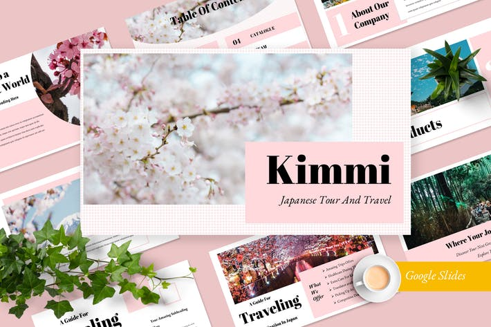 Thumbnail for Kimmi Travel Google Slides Presentation