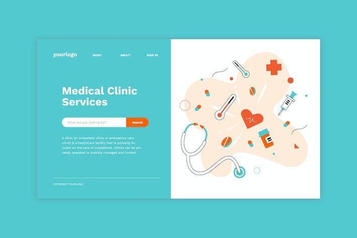 Thumbnail for Медицина - Иллюстрация целевой страницы