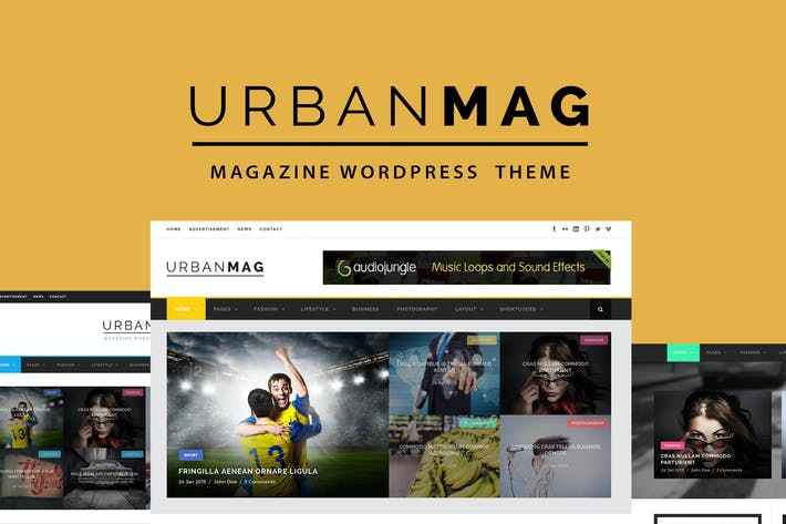 Thumbnail for Urban Mag - News & Magazine WordPress Theme