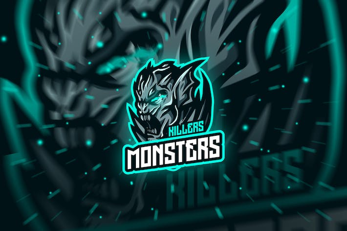 monster - Mascot & Esport Logo
