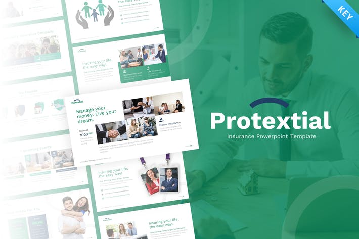 Thumbnail for Protextial – Insurance Keynote Presentation