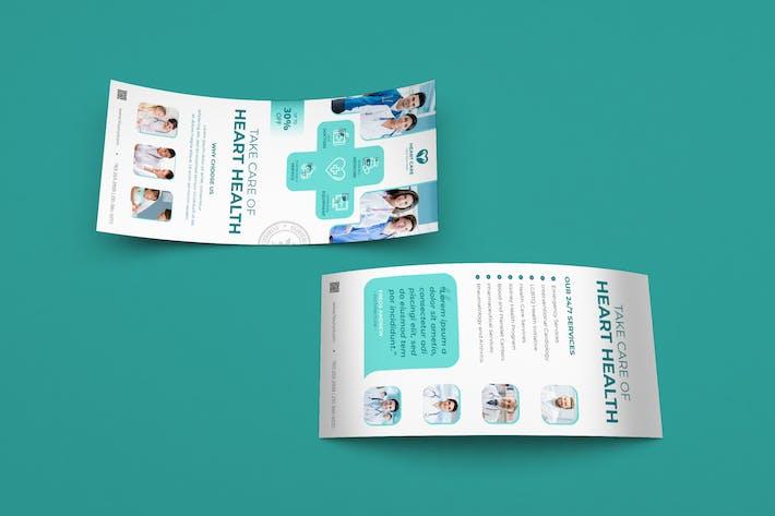 Thumbnail for Medical DL Rackcard