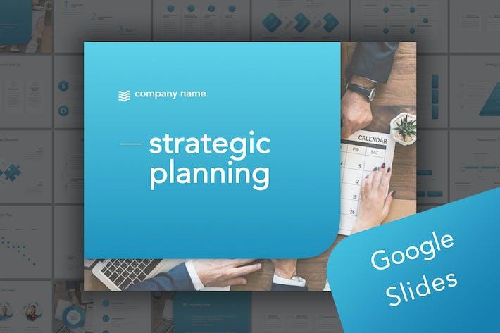 Thumbnail for Strategische Planung Google PräsentationsVorlage