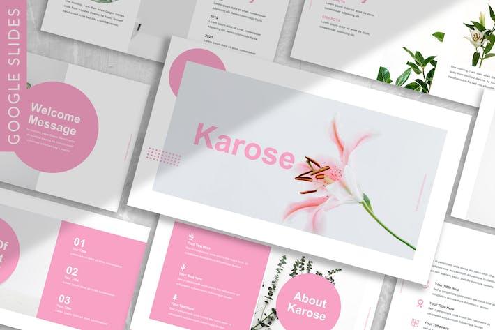 Thumbnail for Karose - Plantilla de diapositivas de Google para empresas