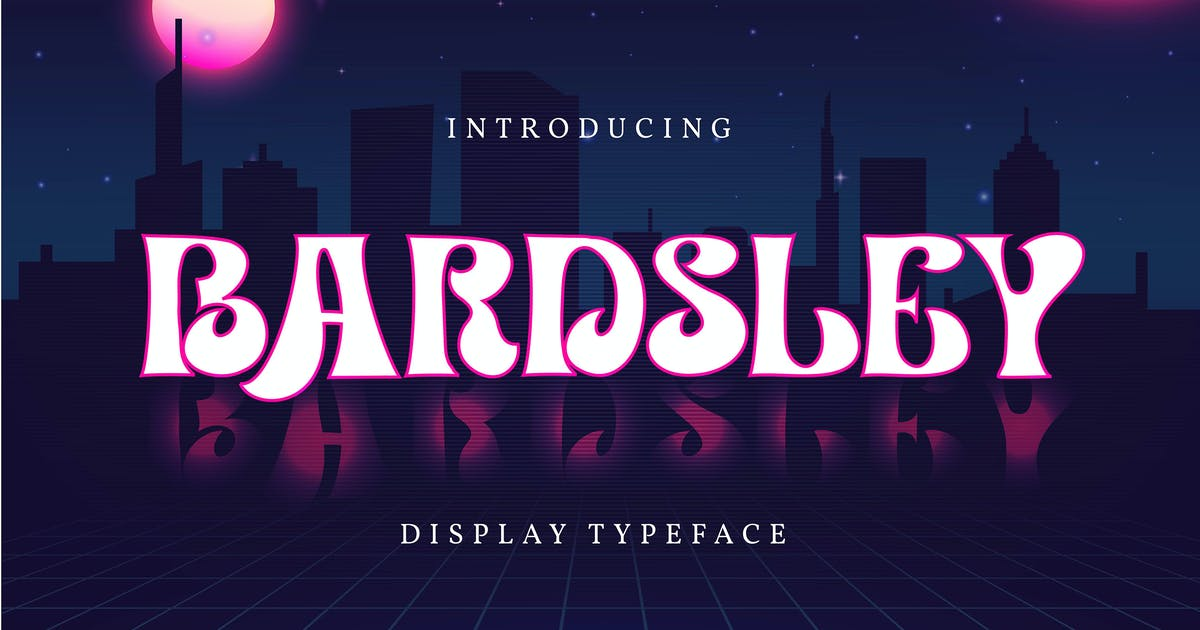Download Bardsley | Display Typeface by Vunira