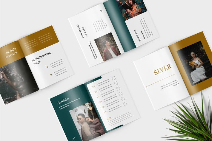 Thumbnail for Slver - Minimalist Workbook Template