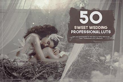 50 Sweet Wedding LUTs Pack