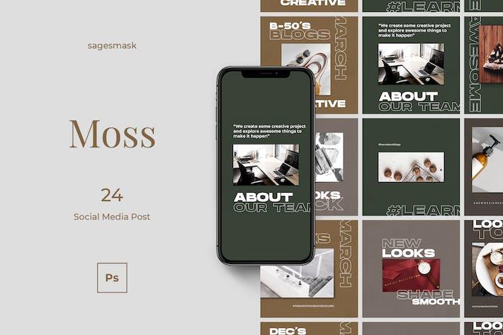 Thumbnail for Message de Moss sur les médias sociaux