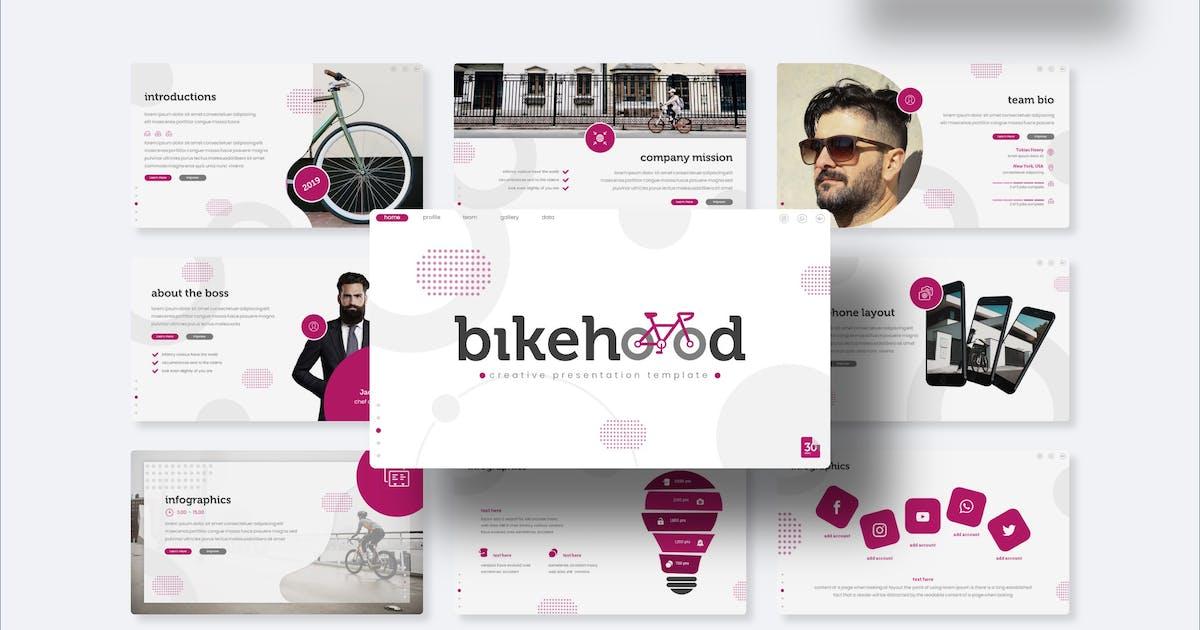 Download Bikehood - Keynote Template by IanMikraz