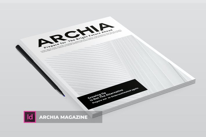Cover Image For Archia | Magazine Template
