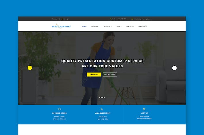 Max clean cleaning business html template by themewisdom on envato cover image for max clean cleaning business html template flashek Gallery