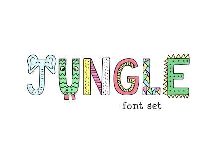 Jungle Font