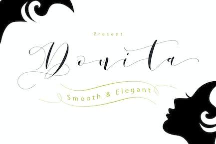 Donita Script + Webfonts