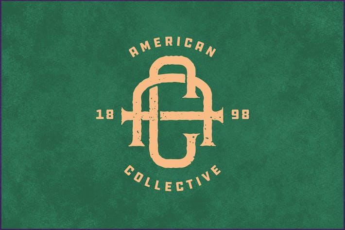 AC Vintage Monogram Logo