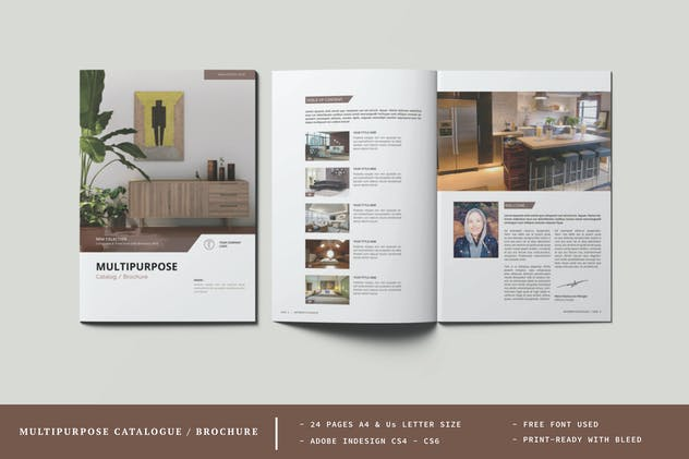 Multipurpose Catalogue / Brochure