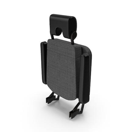 Stewardess Folded Seat