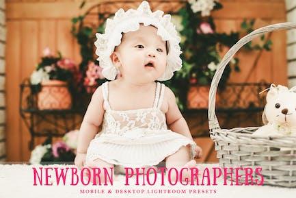 Newborn Mobile & Desktop Lightroom Presets