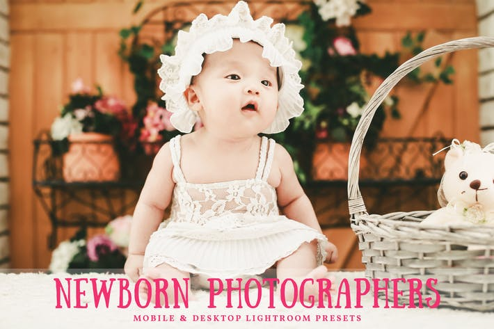 Thumbnail for Newborn Mobile & Desktop Lightroom Presets