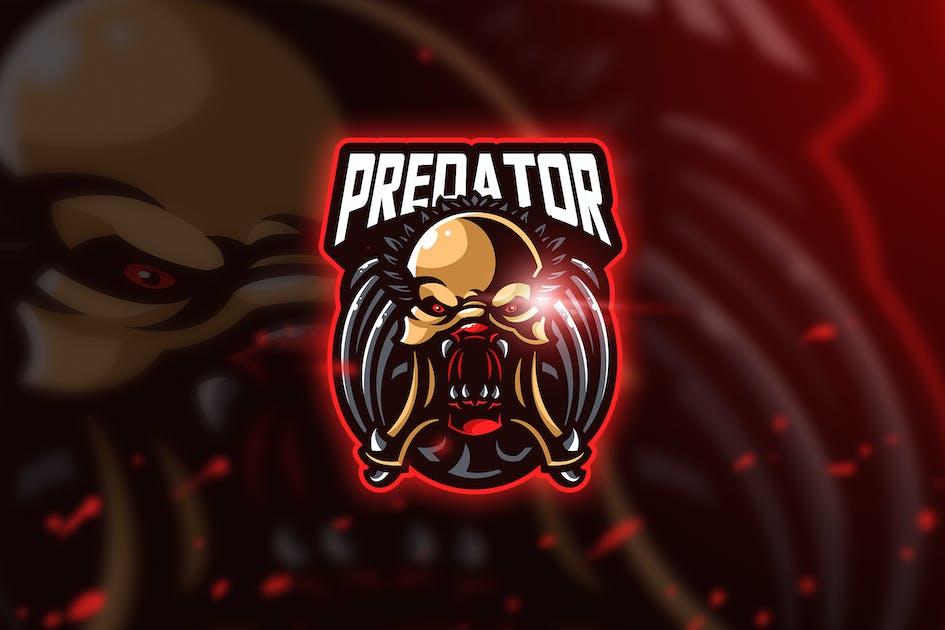 Download Predator luak - Mascot & Esport Logo by aqrstudio