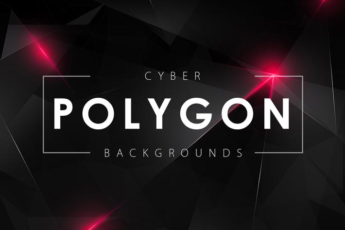 Thumbnail for Cyber Polygon Backgrounds