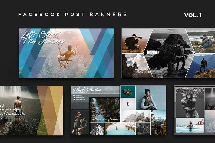 Thumbnail for Facebook Post Banners Vol. 1