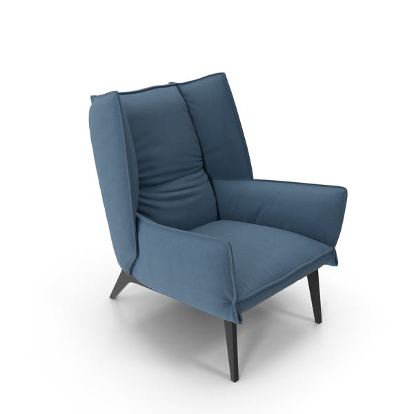 Thumbnail for Blue Armchair