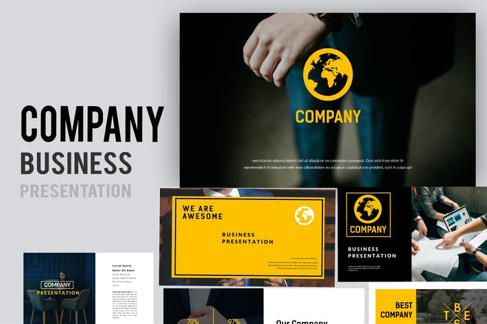 Company Business Powerpoint