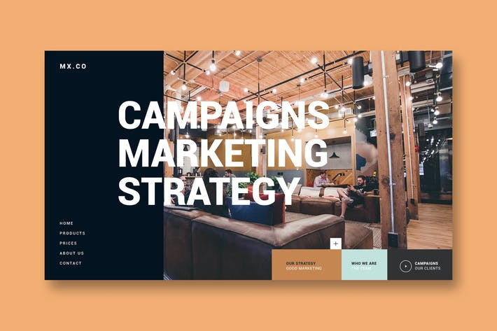 Thumbnail for Marketing Agency - Landing Page