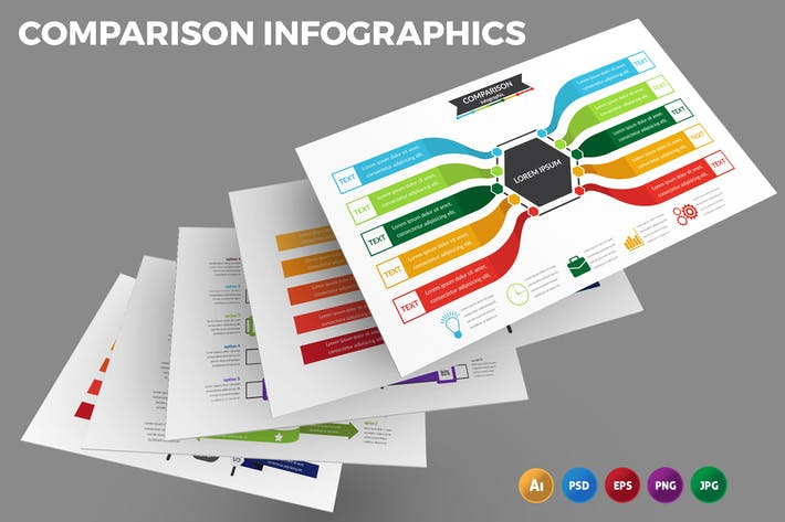 Comparison Table – Infographics Design