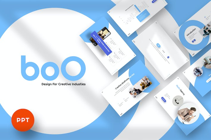 Thumbnail for BoO - Agency Powerpoint Template