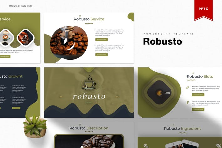 Thumbnail for Robusto| Powerpoint Template