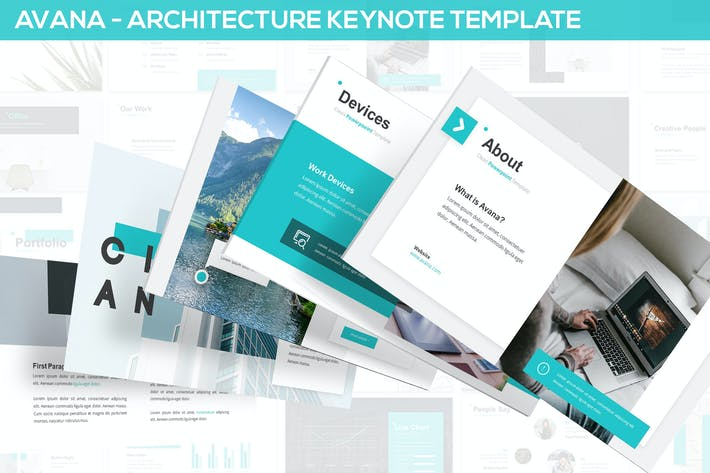 Thumbnail for Avana - Architecture Keynote Template