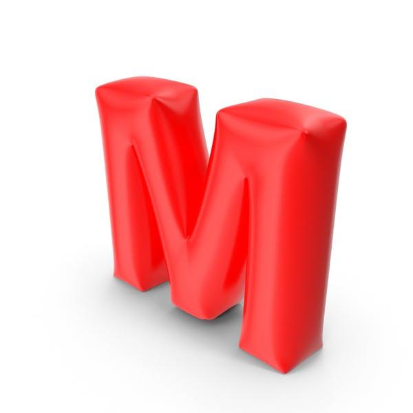 Буква шарик M