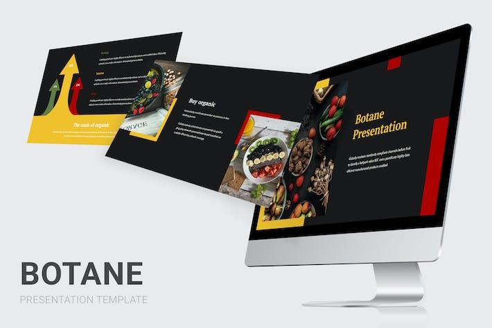 Botane - Органические продукты питания Keynote