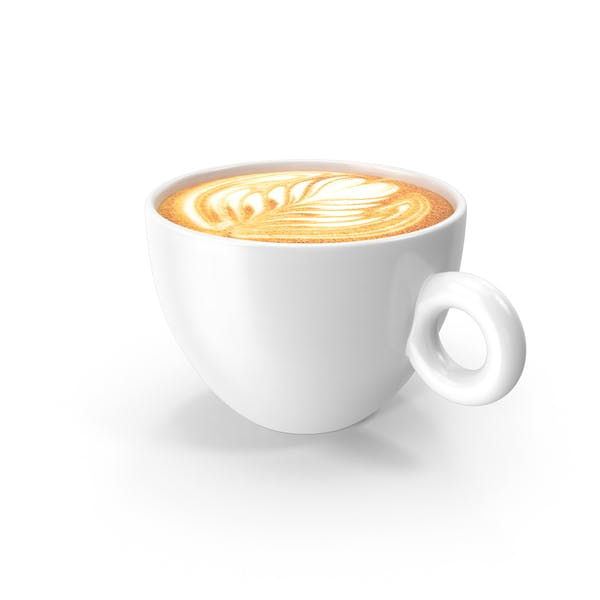 Thumbnail for White Cup With Cappuccino