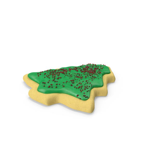 Cover Image for Christmas Tree Cookie