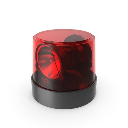 Warning Light Red