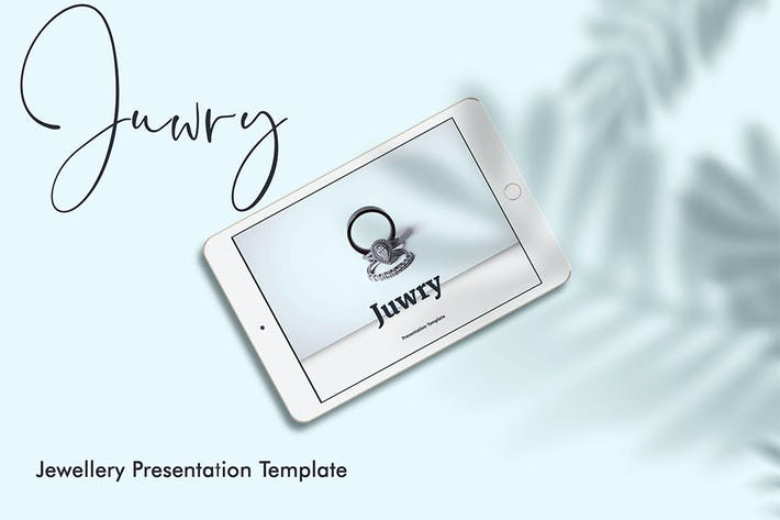 Thumbnail for Juwry - Elegant Google Slide Presentation