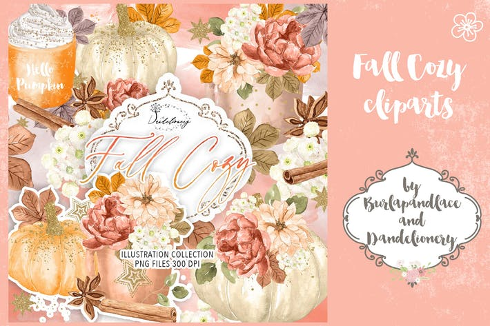 Thumbnail for Fall Cozy digital design