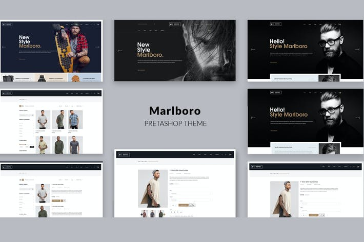 Thumbnail for Marlboro- Multipurpose Responsive Prestashop Theme