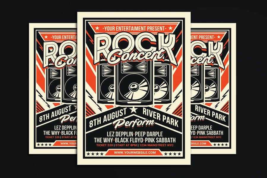 Retro Rock Concert