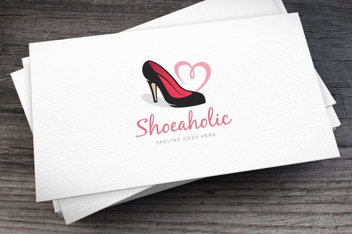 Thumbnail for Shoeaholic Logo Template