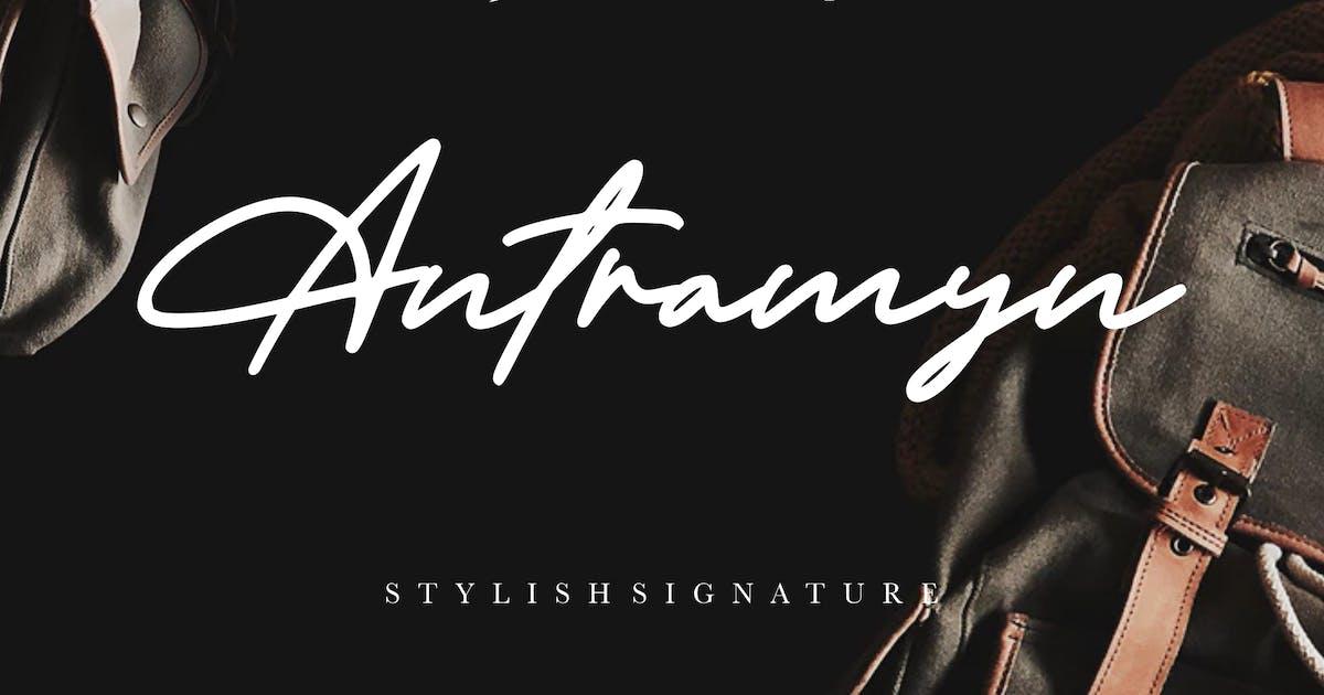 Download Antramyn Stylish Signature by RahardiCreative