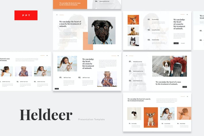 Thumbnail for Heldeer - Dog Lover Powerpoint Präsentation